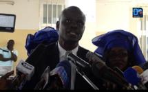 """Parrain de la journée de l'excellence de l'IEF Kaolack : Le Dr Macoumba Diouf fait part de son projet """"Une école, un potager""""."""