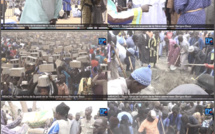 (VIDÉO) Phénoménal engagement des Baay-Fall à la pose de la première pierre du complexe islamique de Mbacké.