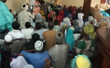 Ziarra Boghal 2020 : Le domicile du Khalife Thierno Abdourahmane Barry pris d'assaut pas les fidèles disciples.