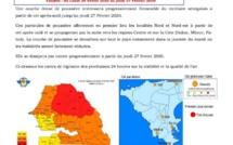ALERTE QUALITÉ DE L'AIR : une couche dense de poussière sur tout le territoire jusqu'au 27 février