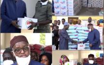 Élan de solidarité au profit des populations sokonoises : Abdou Latif Coulibaly participe à l'effort de guerre contre le covid-19.