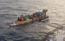 Urgent : Une pirogue de Mbour contenant 150 émigrés clandestins chavire, 100 personnes portées disparues....