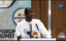 Forum du numérique / Grand prix du chef de l'État : «En décidant de le porter à 30 millions, le chef de l'État a montré son attachement et sa confiance en la jeunesse» (Yankhoba Diattara, MENT)