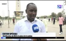 Manifestation M2D à la Place de la nation / Cheikh Tidiane Dièye : « On ne peut pas brimer la liberté des populations. L'ambiance est bon enfant avec la population »