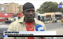 Manifestation M2D: «Il n'y a plus de démocratie, il y'a que des apprentis dictateurs et nous ne resterons pas les bras croisés face à cette injustice» (Nitt doff)