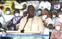 Tournée économique : L'intégralité du discours du Président de la république Macky Sall à Podor.