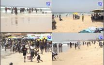 REPORTAGE - Plage de Ngor, Bceao, Diamalaye… : Les jeunes retrouvent un peu le goût de la vie d'avant Covid-19, un risque de noyade accru…