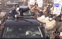 Accueil du président à Ourossogui : Le député-maire Farba renouvelle la démonstration force.