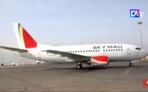Aibd : Vol inaugural de la compagnie SkyMali pour relier Bamako-Kayes et Dakar