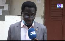Baccalauréat 2021 : Ces mesures fermes de l'Office du bac rappelées par Yancouba Niassy, le Proviseur et chef de centre du Lycée Demba Diop de Mbour aux candidats en lice.