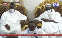 (VIDÉO) Cheikh Bass au Président Macky Sall : «  Le Khalife vous dit que s'il ne dépendait que de lui, toutes vos ambitions seraient exaucées »