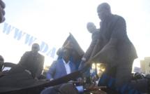 Visite catastrophe à l'UCAD : Le cortège du PR bombardé à coups de pierre