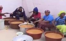 VENDREDI SAINT : Partage du « Ngalax » avec les voisins et amis musulmans au Sénégal