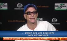 Jean-Claude Van Damme pète les plombs en pleine interview