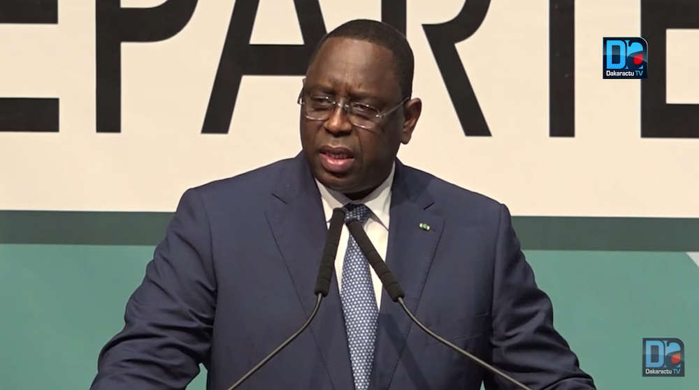 Forum international de Rufisque : « Le futur Palais de la République sera construit à Diamniadio » (Macky Sall)